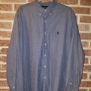 Ralph Lauren mens button up dress shirt